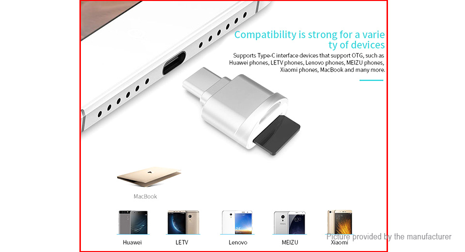 POFAN USB Type C Card Reader
