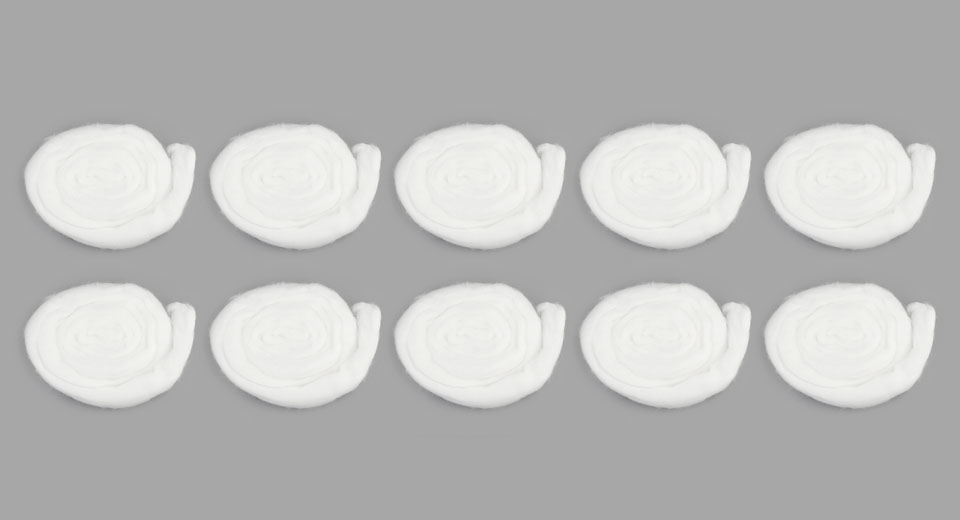 Authentic Madman Cotton Wick for RBA Atomizers (5-Pack)