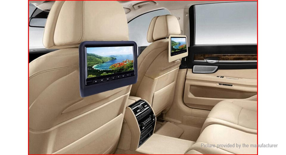 XD9901 Clip On 9 LCD Car Backseat DVD Player