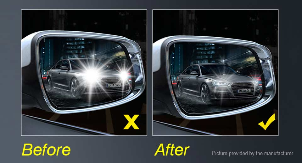 7 48 Car Anti Water Mist Film Nano Coating Rearview Mirror Window