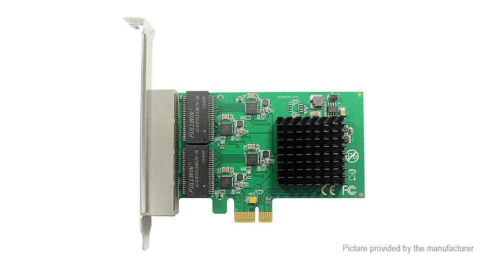 Product Image: pcie-to-4-port-rj45-gigabit-ethernet-lan-network