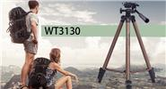 Weifeng WT3130 Aluminum Alloy Folding Tripod Stand for Camera / DSLR Camcorder