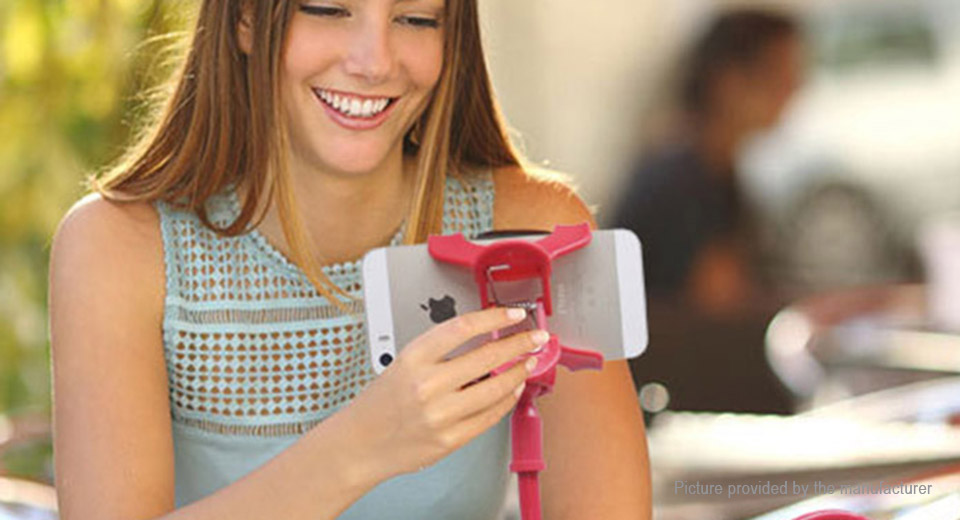 Flexible Long Arm Clip-on Holder Clamp for Cell Phone