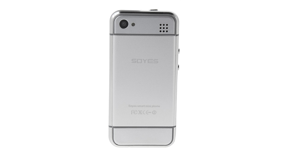 super popular 5b0fd 27e50 SOYES 6S Mini 2.4'' Dual-Core Lollipop GSM Smartphone (8GB)