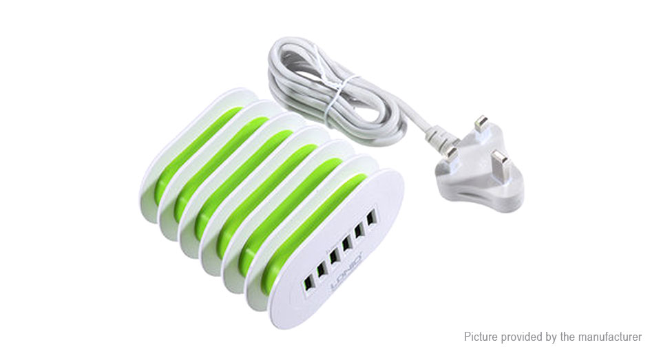 Product Image: ldnio-a6702-6-port-usb-travel-charger-power