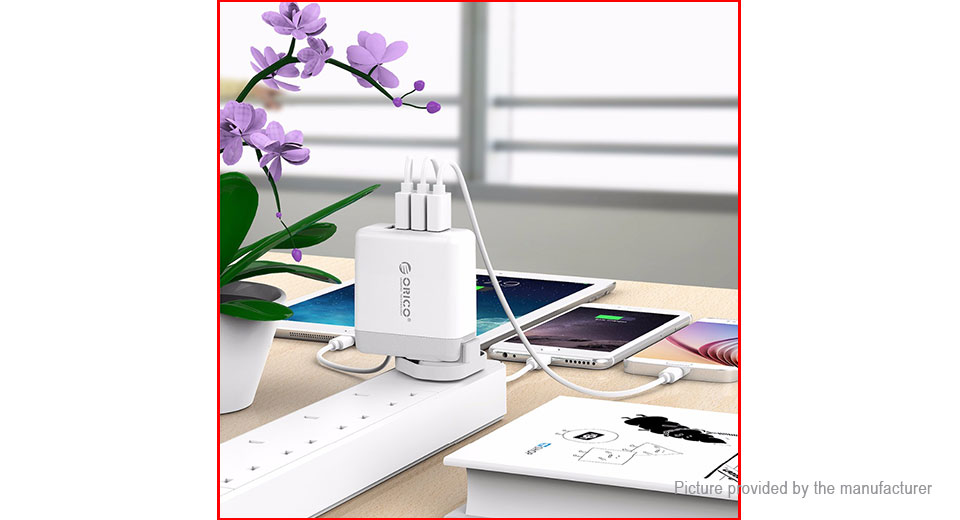 ORICO DSP-4U 4-Port USB AC Travel Charger Power Adapter (US)