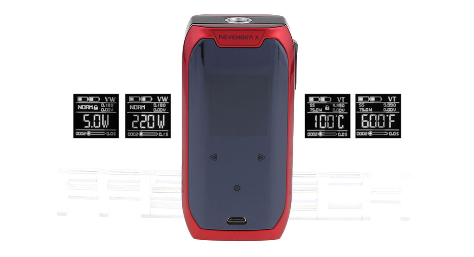 Authentic Vaporesso Revenger X 220W TC VW APV Box Mod
