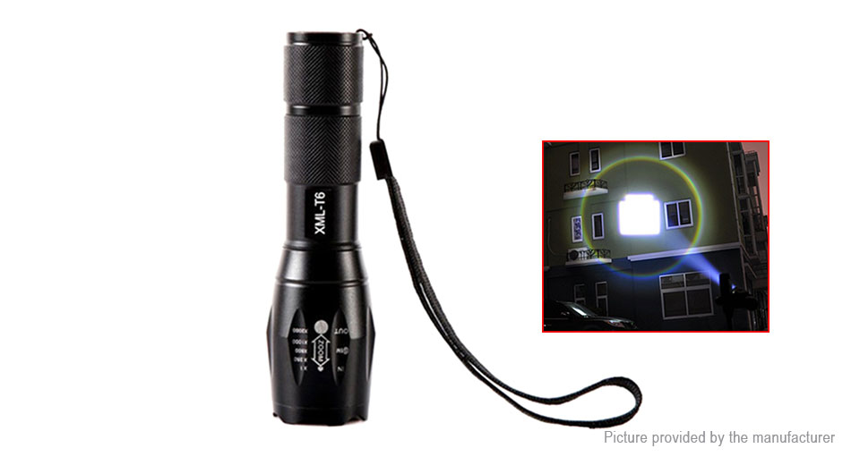 Product Image: e-smart-mini-led-flashlight-w-focus-zoom