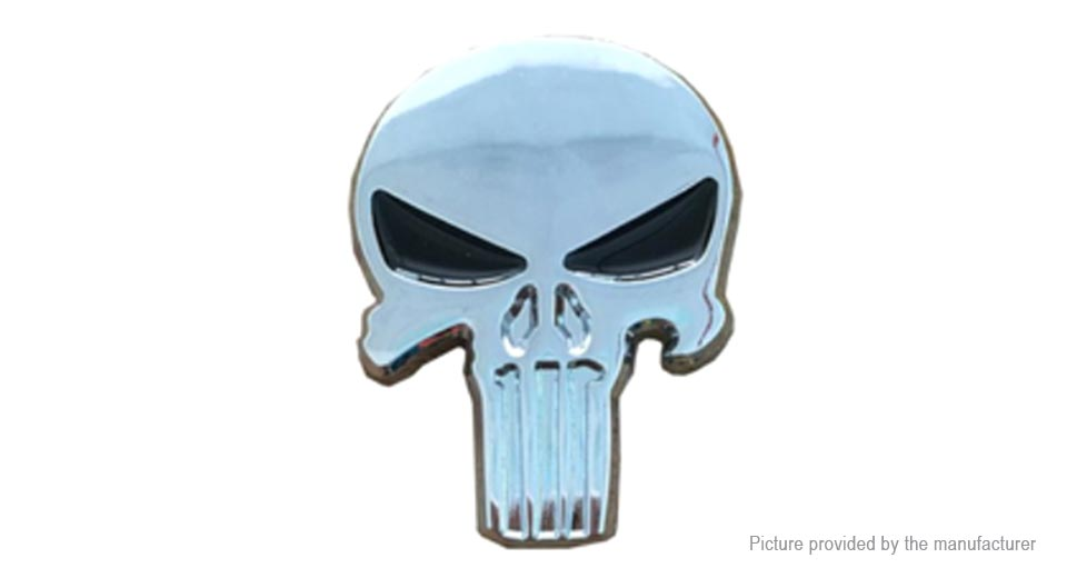 Product Image: metal-skull-sticker-skull-totem-car-decoration