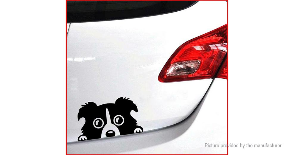 Lovely Dog Styled Car Decoration Decal Sticker (2-Pack)