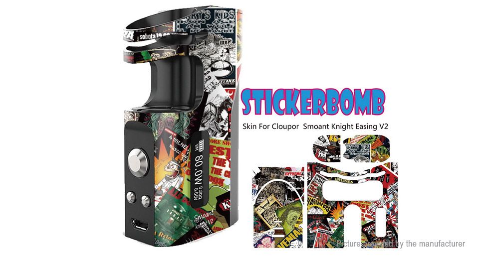 Product Image: authentic-stickerbomb-self-adhesive-skin-sticker