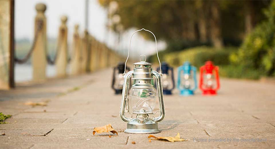Baiqun 235A Portable Retro Oil Lantern Outdoor Camping Lamp