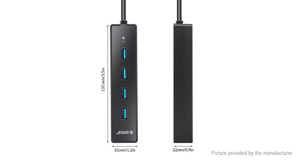 ORICO W8PH4 4-Port USB 3.0 Hub