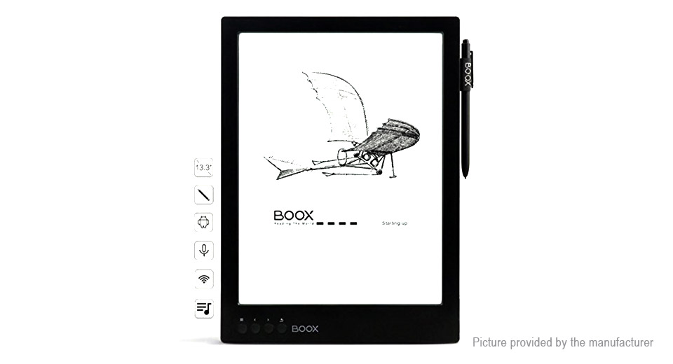 ONYX BOOX Max Carta 13.3'' E-Ink Touch Screen E-book Reader (16GB)
