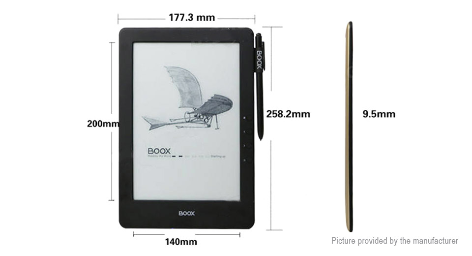 ONYX BOOX N96ML Carta + 9.7'' E-Ink Touch Screen E-book Reader (16GB)