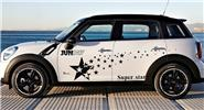 Super Stars Design Styled Car Decal Sticker Decoration