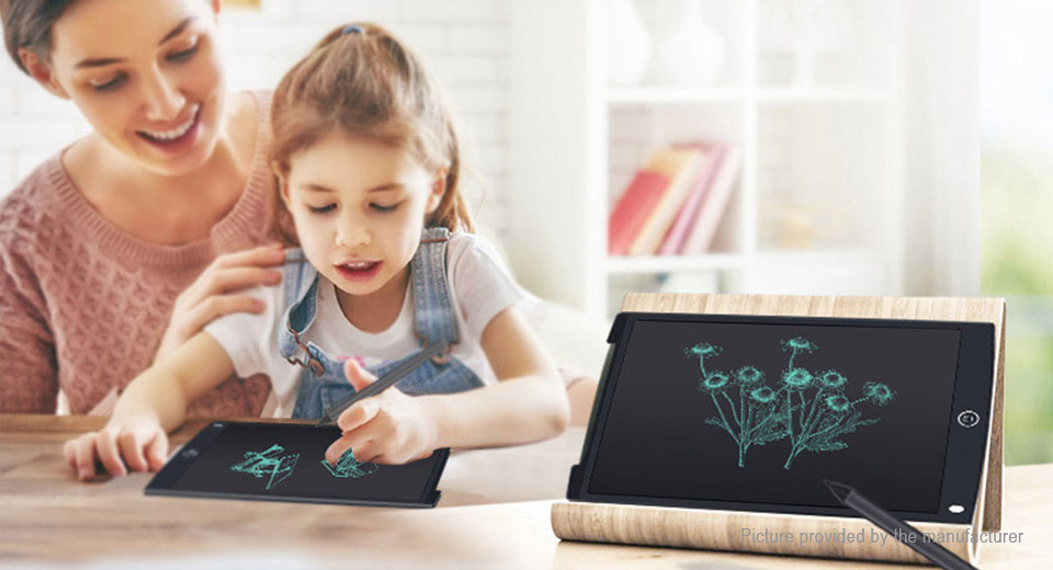 "BDF 12"" LCD E-Note Paperless Writing Tablet Digital Kid Drawing Pad"