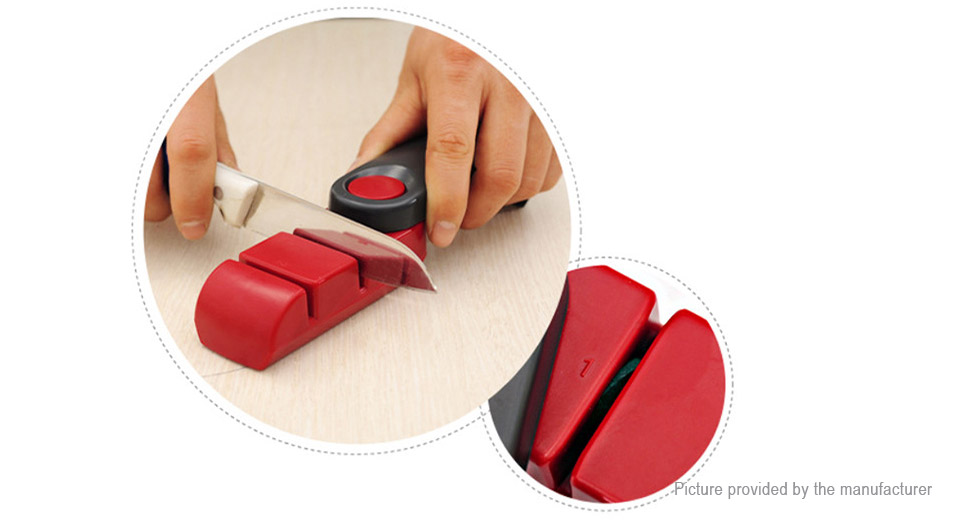 Double Side Kitchen Knife Sharpener Tool