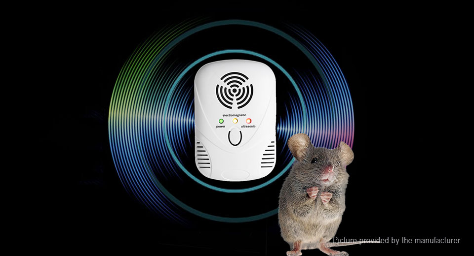 Ultrasonic Electronic Cockroach Mosquito Mouse Pest Repeller