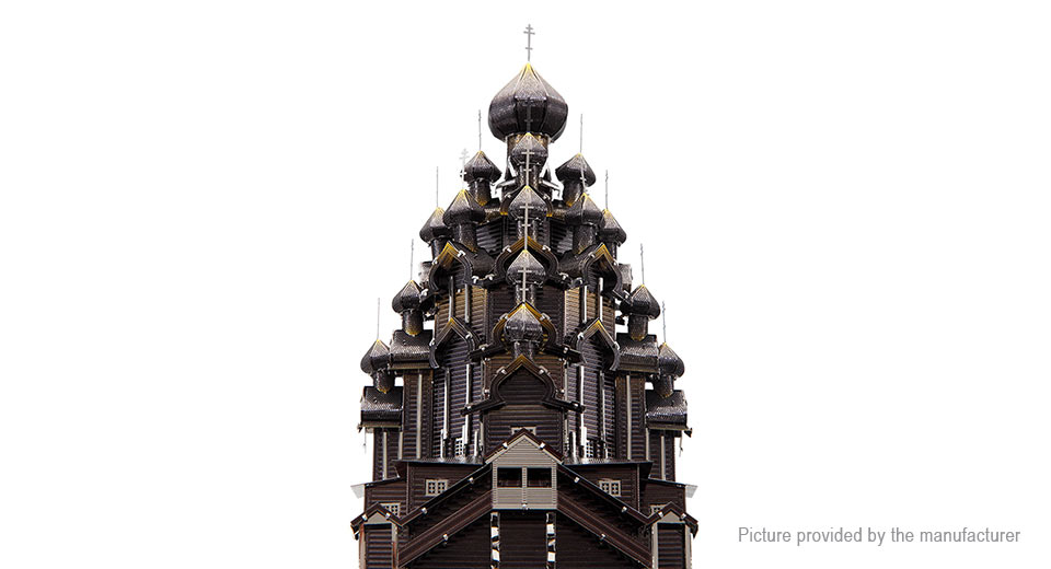 Product Image: piececool-3d-metallic-kizhi-church-of-the