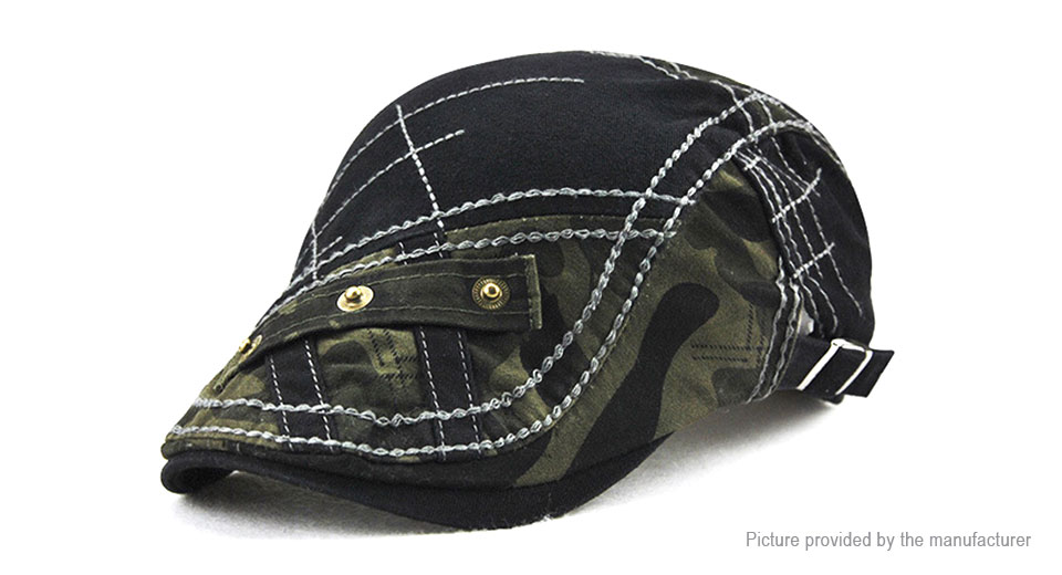 Product Image: jamont-men-s-stripe-embroidery-beret-hat