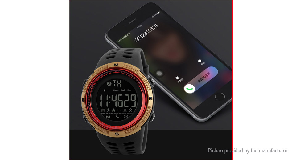 Authentic Skmei 1250 Unisex Sports Bluetooth V4.0 Smart Watch