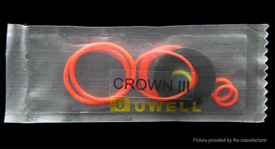 $1.12 Authentic Uwell Crown 3 Replacement O-ring Set at FastTech ...