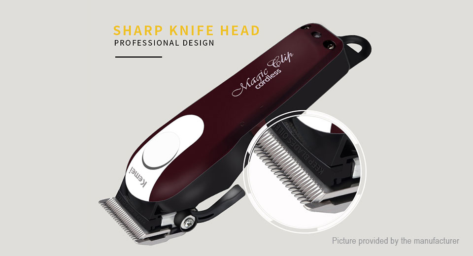 ... Kemei KM-2600 Rechargeable Electric Hair Clipper ...
