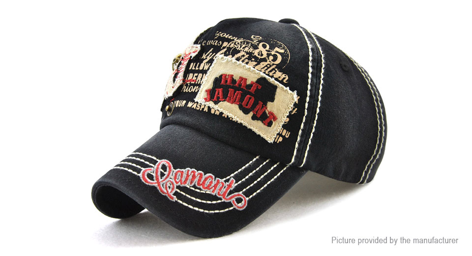 Product Image: jamont-unisex-cotton-baseball-hat-cabbie-cap
