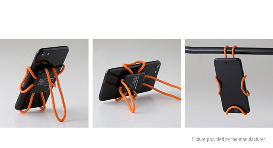 Creative Flexible Diy Cell Phone Holder Stand