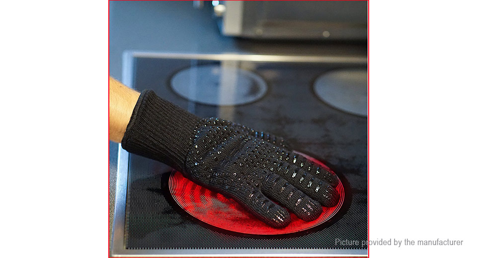 9 88 Microwave Oven Bbq Grill Heat Resistant Gloves Mitts