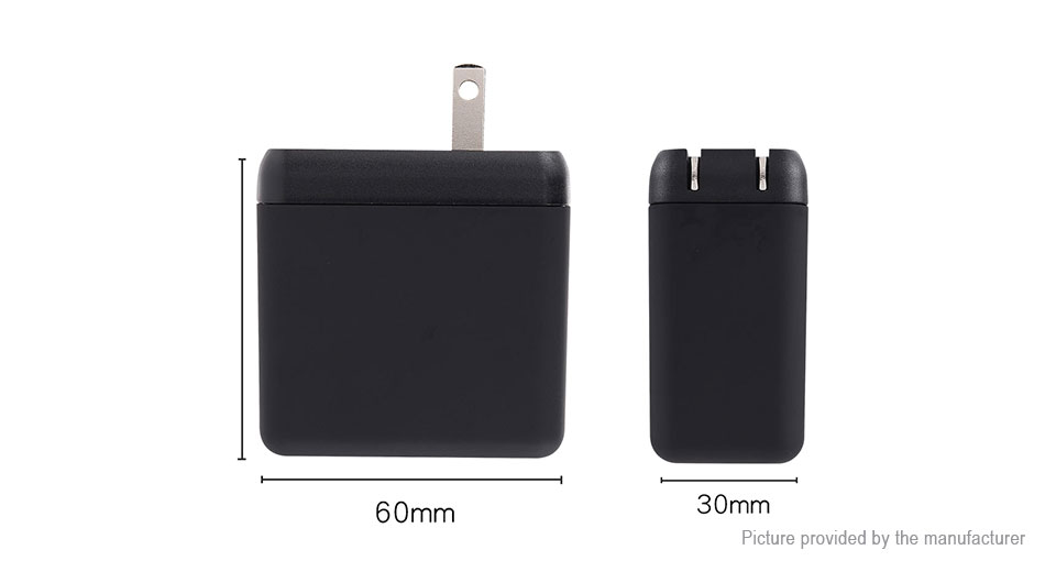 YAOMAISI Dual USB Travel Wall Charger Power Adapter