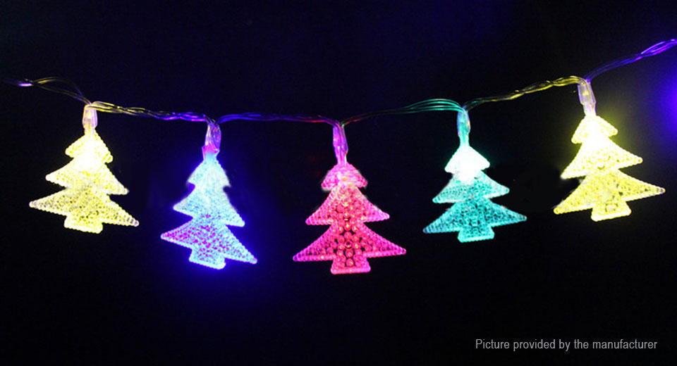 Christmas Tree Styled LED String Fairy Light Christmas Party Decoration (5m)
