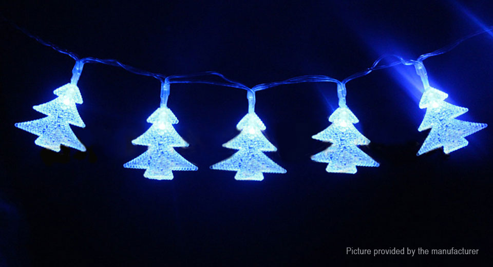 Christmas Tree Styled LED String Fairy Light Party Decoration 5m