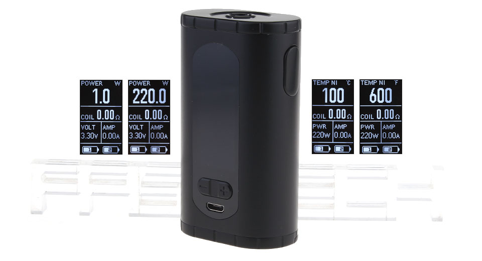 Product Image: authentic-eleaf-invoke-220w-tc-vw-apv-box-mod