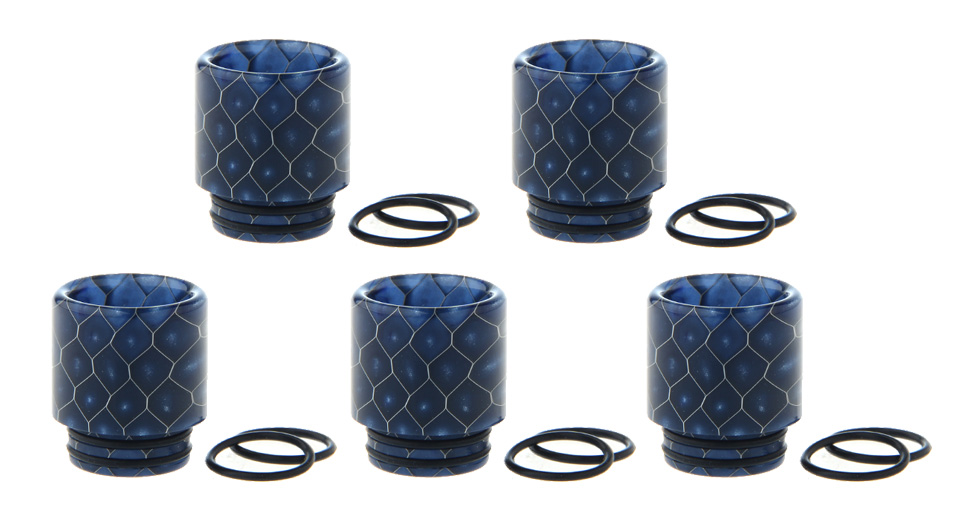 Authentic Smoktech SMOK Resin Drip Tip for TFV12 Prince Clearomizer (5-Pack)