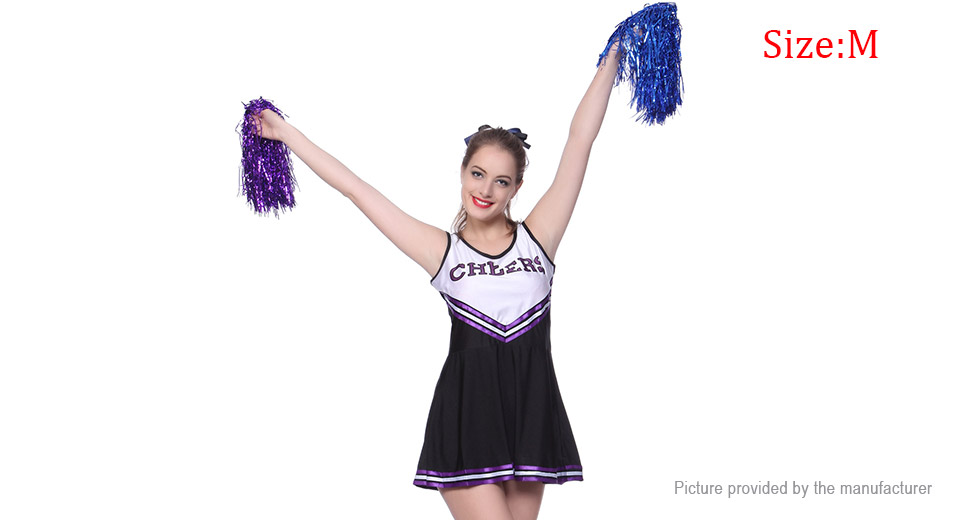3c3db7ae027 Women Role Play Sexy Cheerleader Cosplay Lingerie Set (Size M) ...
