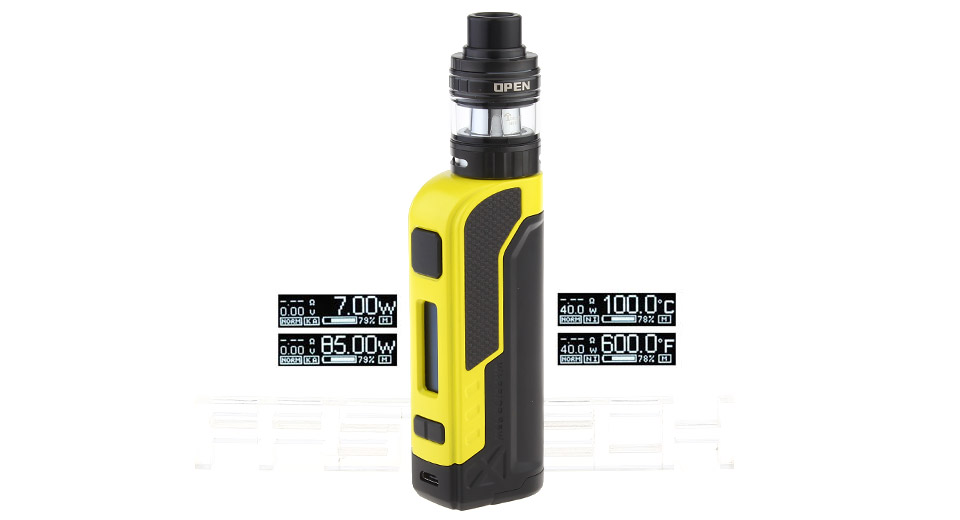 Product Image: authentic-teslacigs-warrior-85w-tc-vw-apv-mod-kit