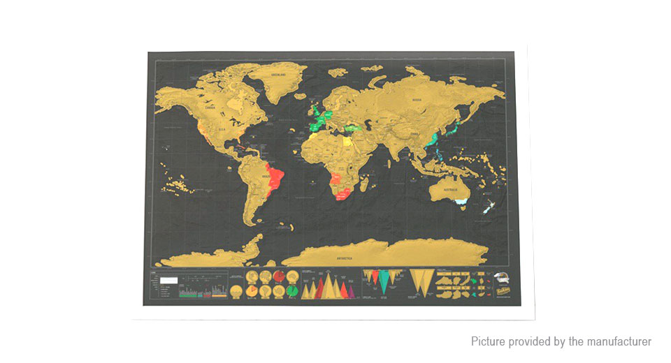 681 creative scratch off world map poster personalized journal log creative scratch off world map poster personalized journal log gumiabroncs Image collections
