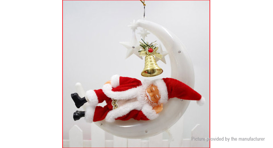 Product Image: electric-snoring-singing-santa-pendant-toy