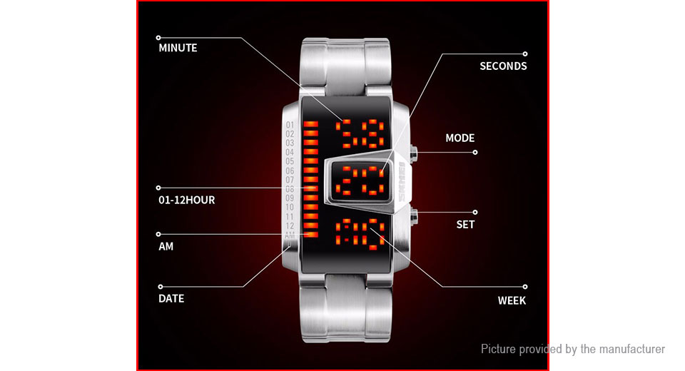 Skmei 1179 Men's LED Digital Wrist Watch