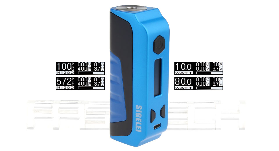 Product Image: authentic-sigelei-e1-80w-tc-vw-apv-box-mod