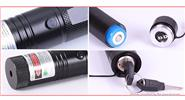5mW Green Light Single Dot 5Laser Pointer w/ Focus Zoom