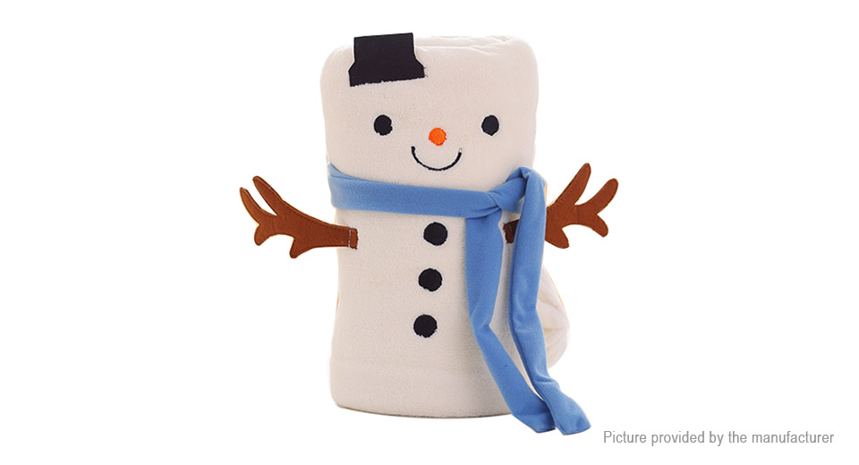 Product Image: snowman-styled-travel-folding-sleeping-blanket