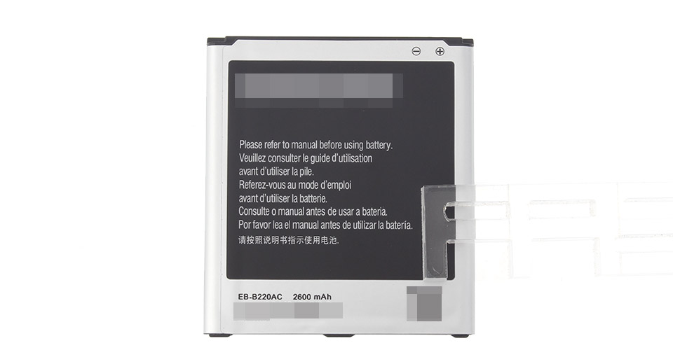 3.8V 2600mAh Replacement Li-ion Battery for Samsung Galaxy Grand 2 G7106