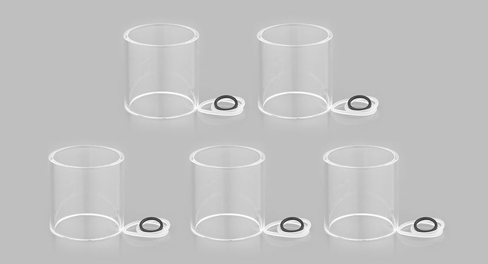 Product Image: veco-one-plus-replacement-glass-tank-5-pack