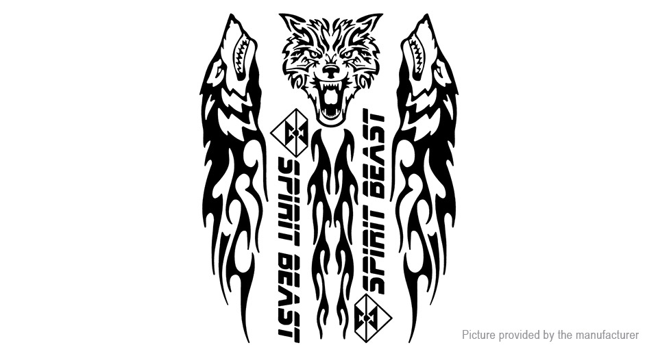 $3 99 Spirit Beast Motorcycle Tank Gas Protector Reflective Sticker Decor  at FastTech - Worldwide Free Shipping