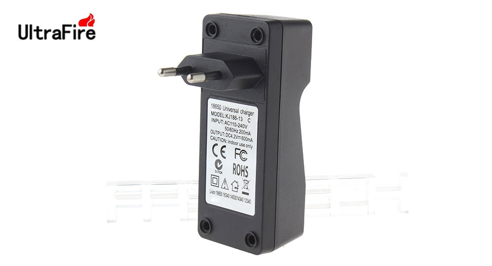 Product Image: authentic-ultrafire-dc12-single-slot-battery