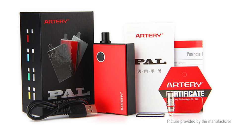Authentic Artery PAL AIO 1200mAh E-Cigarette Starter Kit