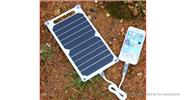Outdoor Emergency Solar Powered Charging Panel USB Travel Charger